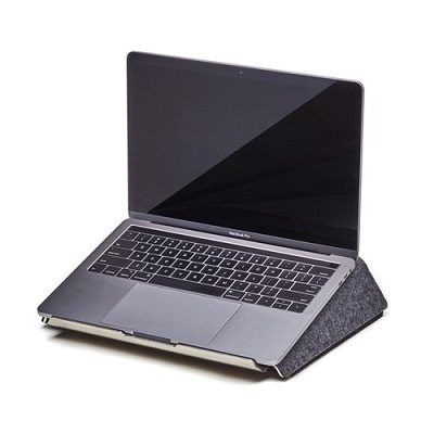 dark gray laptop lift