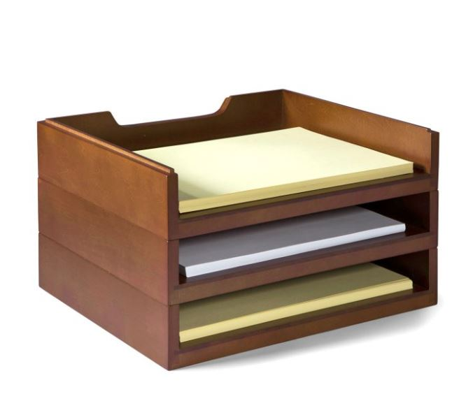 Bindertek Wood Organizer
