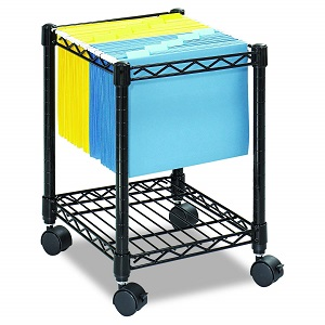 safco compact rolling cart