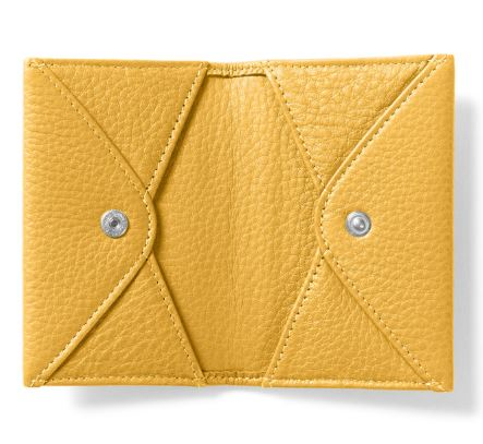leather biz card holders in colors