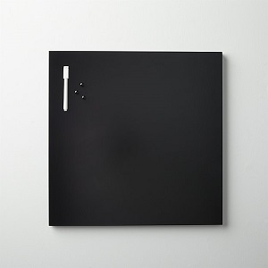 cB2 matte dry erase board