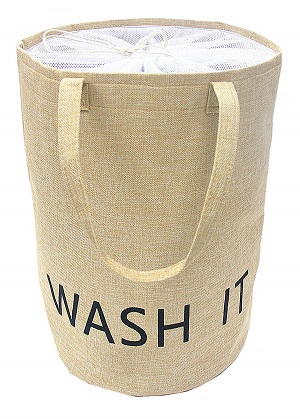 linen laundry hamper