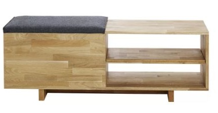 mash studios storage bench
