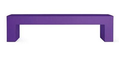 Heller Vignelli Bench in colors