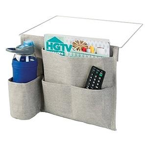 Bedside storage organizer