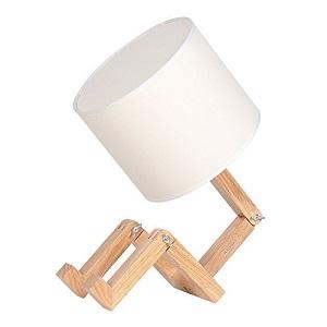 Haitrail wooden table lamp