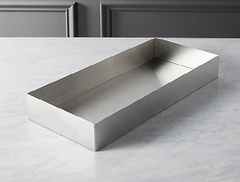 CB2 Stainless Tank tray