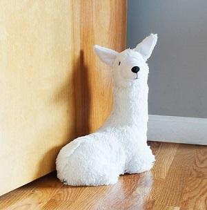 llama butler door stop