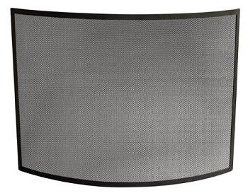 uniflame black curbed panel