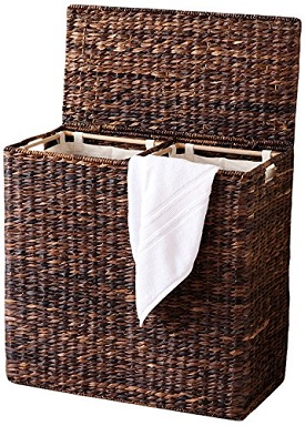 bird rock divided hamper
