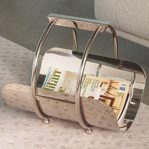machine age magazine rack