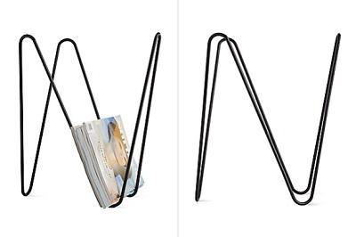 MW magazine rack