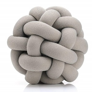 decorative knot pillow