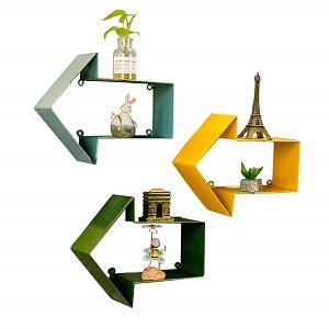 ZCCHJ Decorative shelf in colors