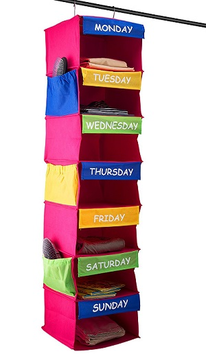 daily activity hanging organizer