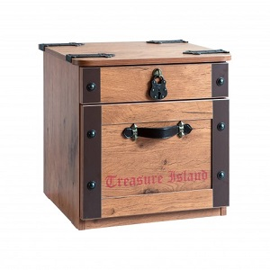 pirate's 2-drawer nightstand