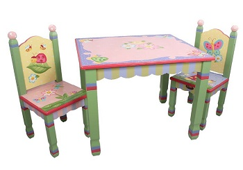 magic garden table & chair set
