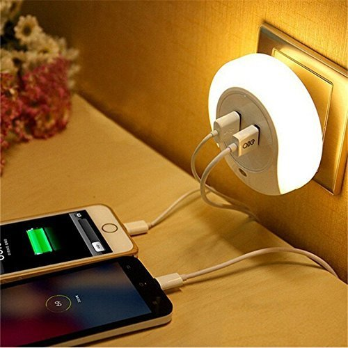 night light wall charger