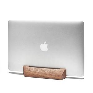 walnut macBook dock