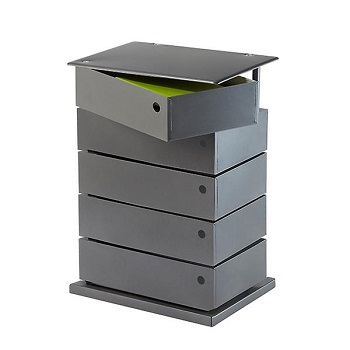5-bin anthracite storage tower