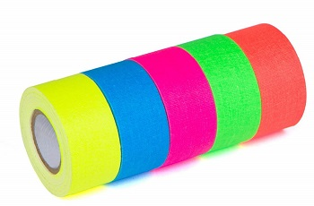 5-pack super bright gaffers tape