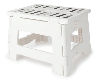 kikkerland step stool in colors