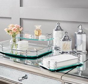 belmont vanity trays