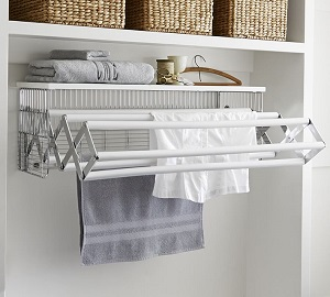 wallmount drying rack