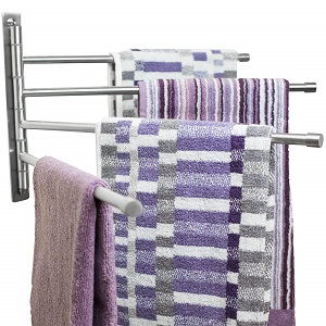 swivel towel rack