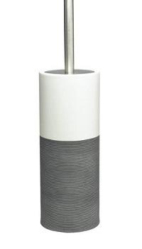 porcelain brush & holder