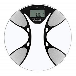 Escali Glass Body Fat Scale