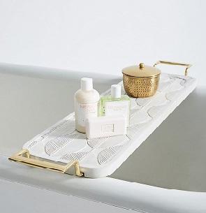 lotus bathtub caddy