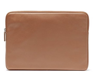 leather laptop sleeve in colors