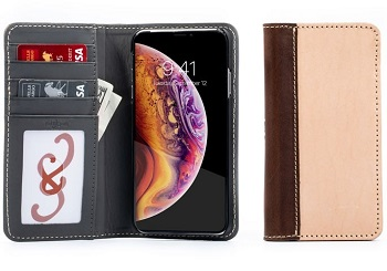 Pad & Quill leather/wallet case