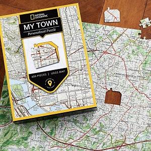 Nat Geo MY TOWN puzzle