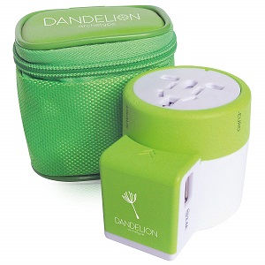 dandelion travel adapter