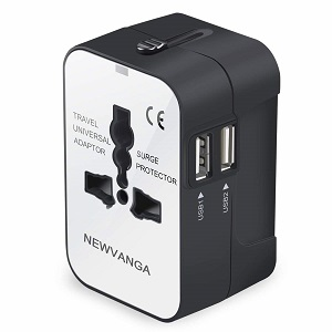 Newvanga travel adapter