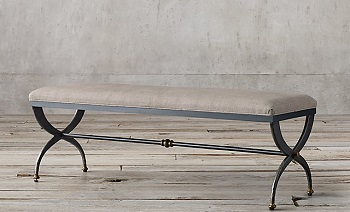 RH French S-curve bench