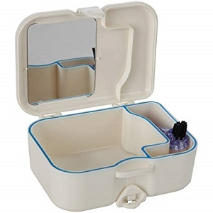 denture/retainer travel case