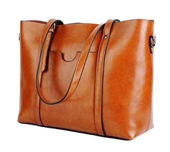 yaluxe leather tote bag