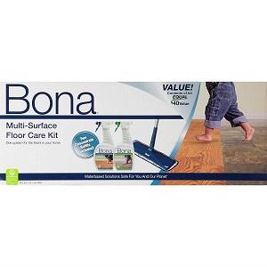 bona multi-surface floor care kit