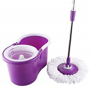 goplus spin mop w/bucket