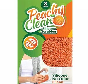 peachy clean silicone scrubber