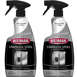 weiman stainless cleaner/polish