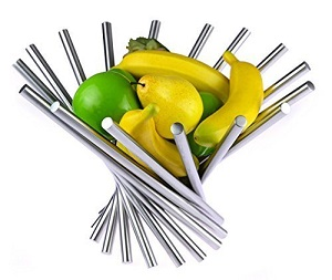 Stainless Rotation Fruit Bowl