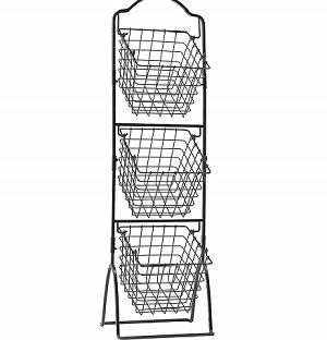 Mikasa Metal Market Basket