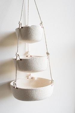Northern Market hanging baskets
