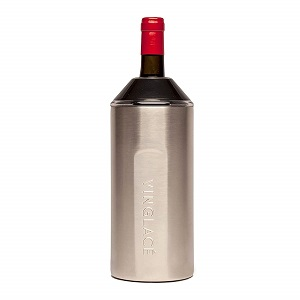 vinglace stainless wine insulator