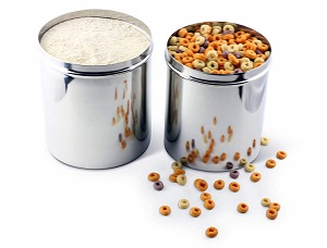 cal tiffin stainless canister set