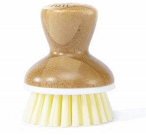 full circle bamboo dish brush